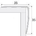Schodový profil - A41 samolepiaci