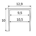 Jednoduchý profil (EASY) - B61