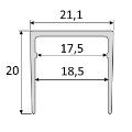 Jednoduchý profil (EASY) - B63