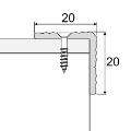 Schodový profil - A35